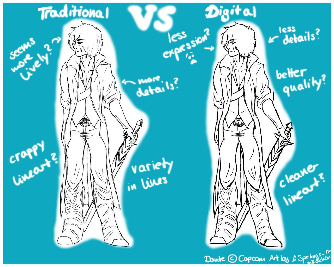 Traditional or Digital?