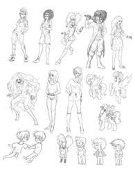 Dubai sketches
