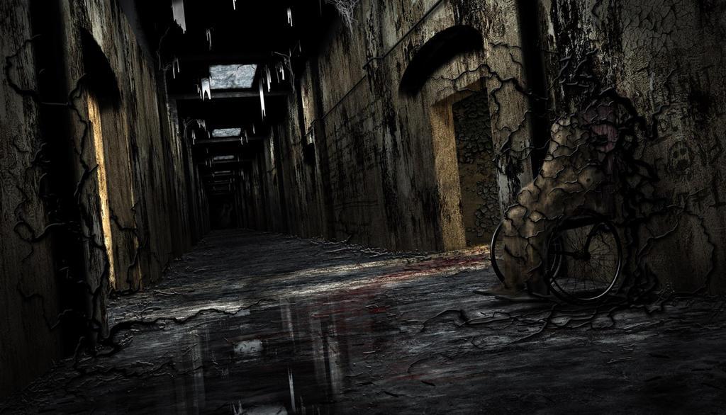 Haunted Hallway by Cybergooch