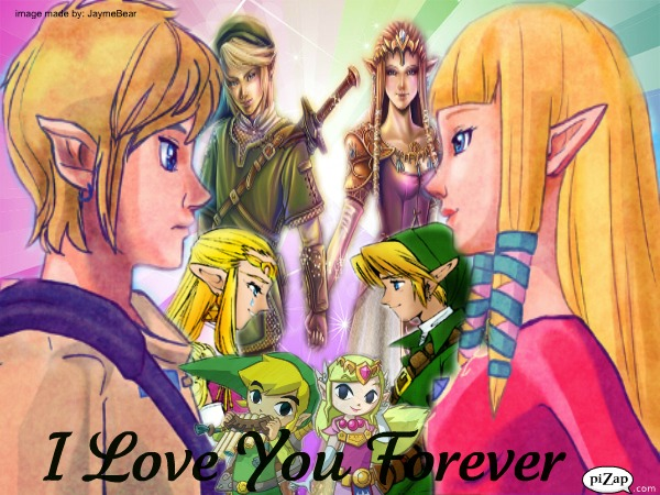 Link And Zelda Relationship Link x Zelda - I Love ...