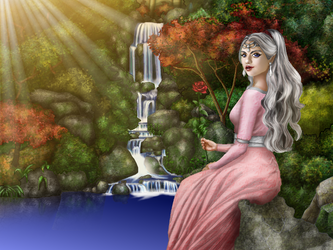The Silver Queen by veveco