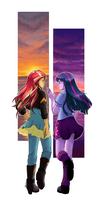 [MLP] Twilight and Sunset