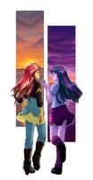 [MLP] Twilight and Sunset