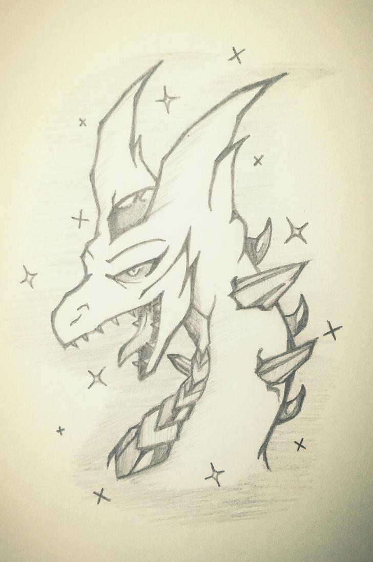 Corrupt Crystal Dragon by Syth77