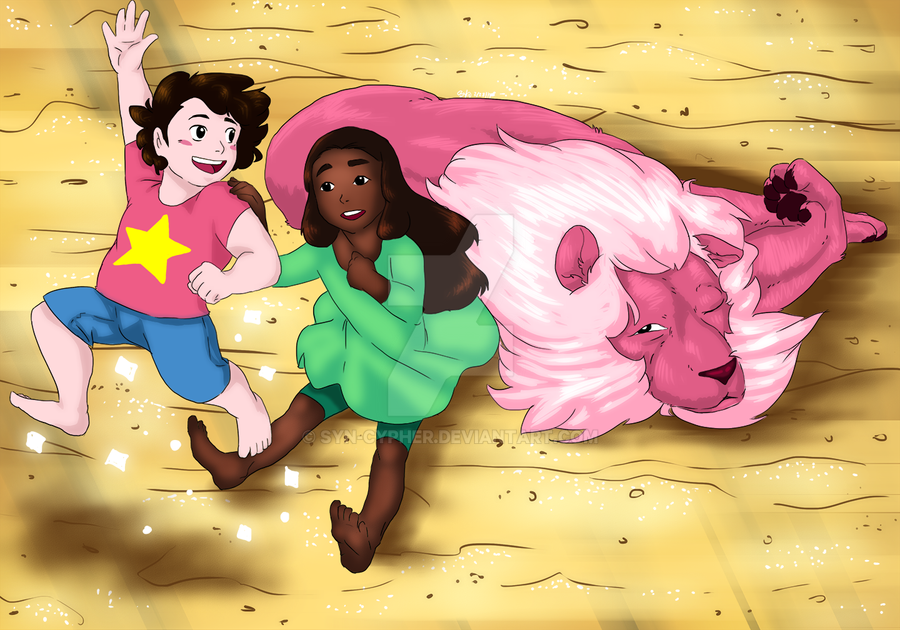 Be good for Connie, Lion! by Syn-Cypher
