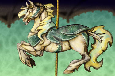 Helluva Boss Carousel-LeadHorse Speed Paint!