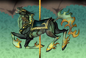 Helluva Boss 2nd Carousel Horse Speed Paint