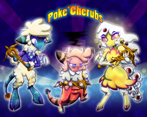 Poke'Cherubs- Speed Paint