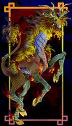 Patreon Speed Paint: Qilin