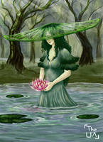 Kae'Rilia, Queen of Lilies by TheUnconfidentArtist