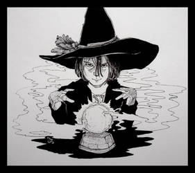 RGD 34/Inktober 22 - The Little Witch