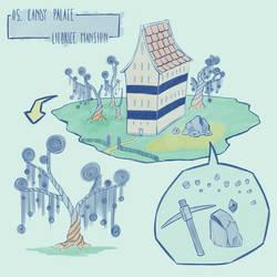 Doodleadayjanelsf 05 - Candy Palace