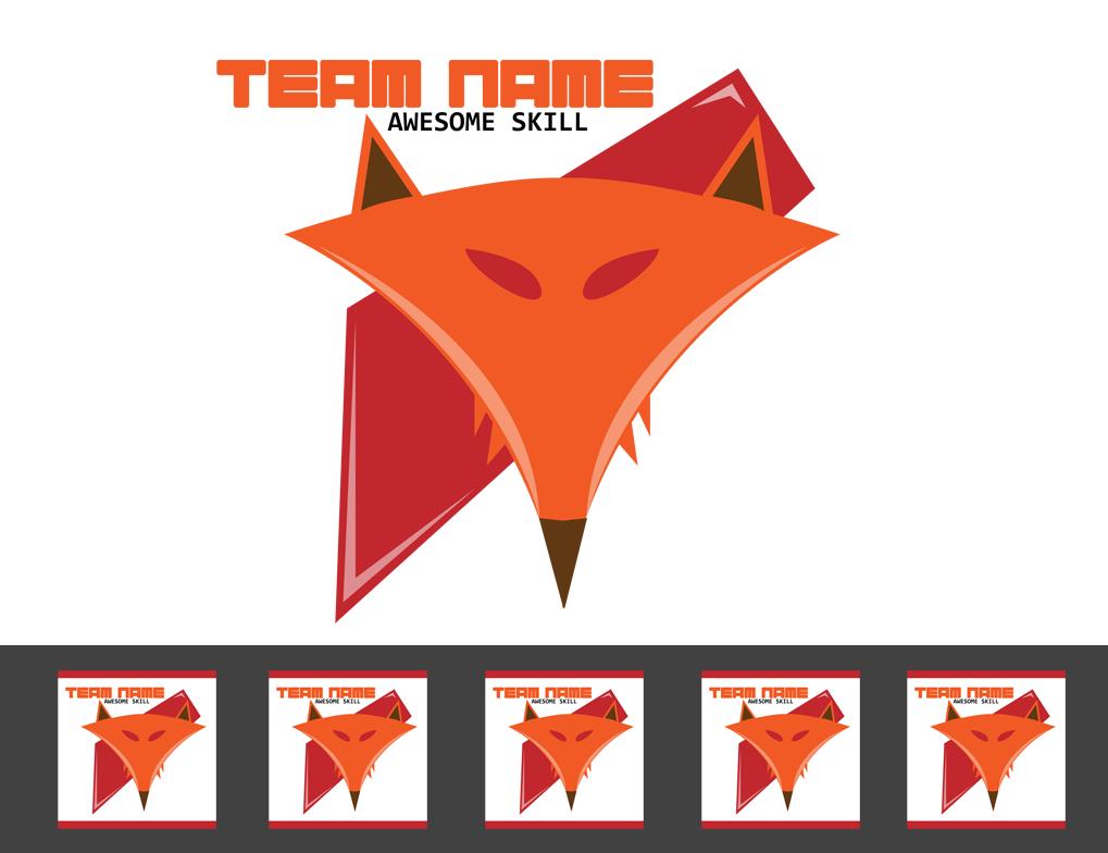 how to make a csgo team logo