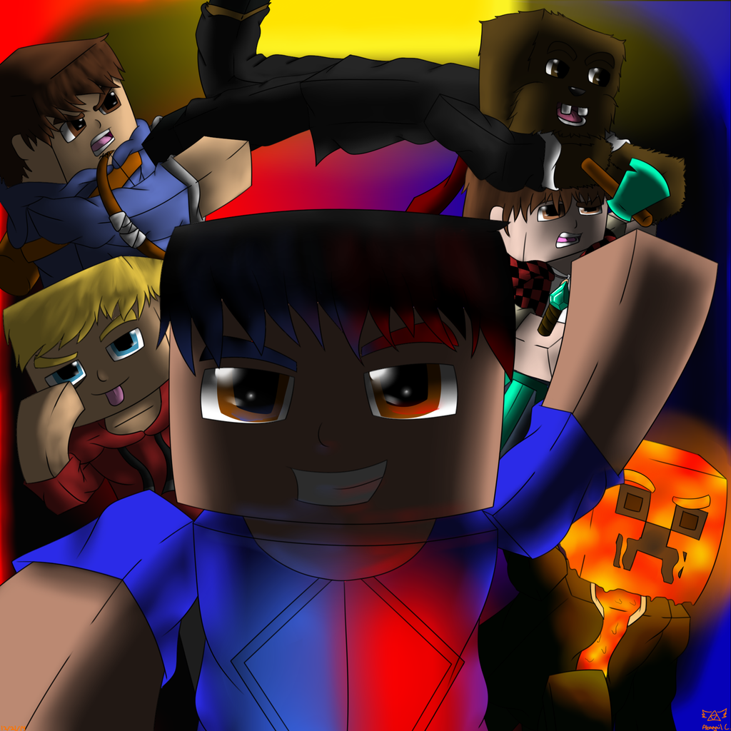 Minecraft the pack by abagailflare on deviantart