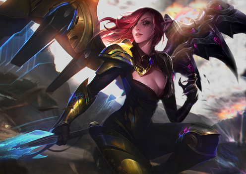League of Legends - Apostate Angel Morgana