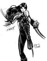 Inksketch: X-23 by Shono