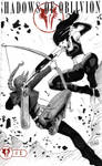 One Sketch 18: Katniss vs X-23 by Shono