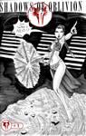 One Sketch 38: Slave Leia by Shono