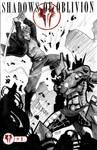 One Sketch 41: Cerberus vs Scai by Shono