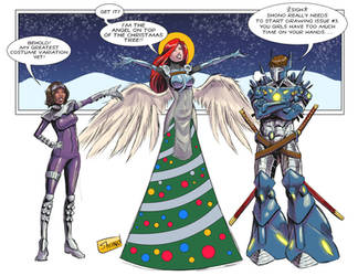 Happy Holidays from Shadows of Oblivion! by Shono