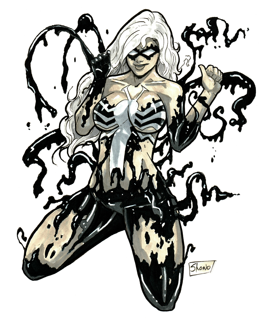 Heroes Con 2014: Black Cat Symbiote by Shono