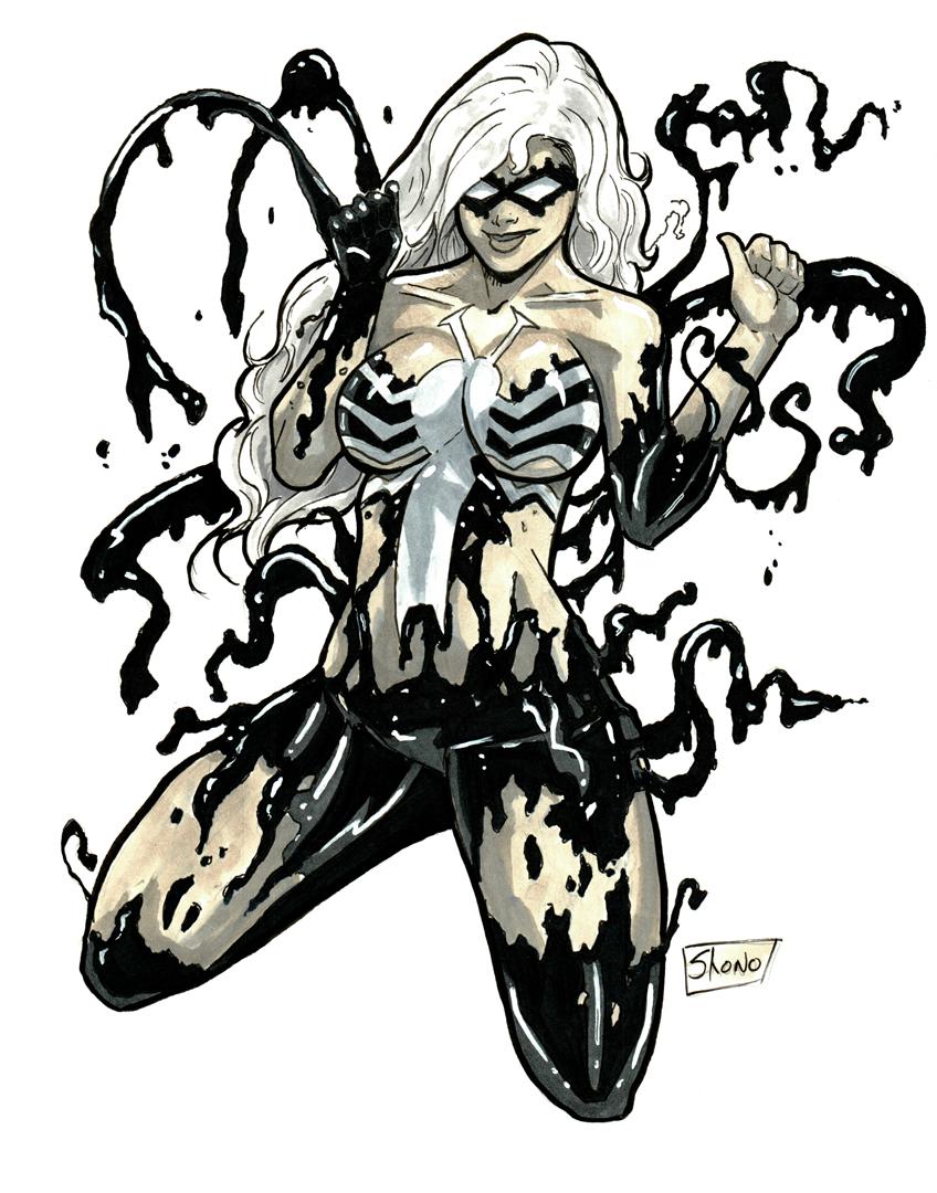 Heroes Con 2014: Black Cat Symbiote