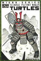 YamaCon 2014 sketch: Samurai Raphael by Shono