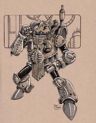 FOR SALE: ROBO ORIGINAL ART by Shono
