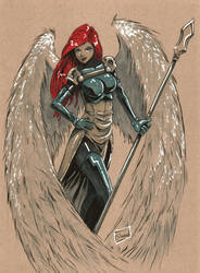 MGA sketch: WarAngel by Shono