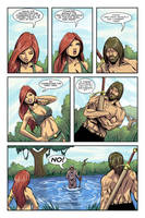 Dalrak the Mighty #1 p15 by Shono