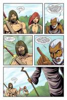 Dalrak the Mighty #1 p16 by Shono