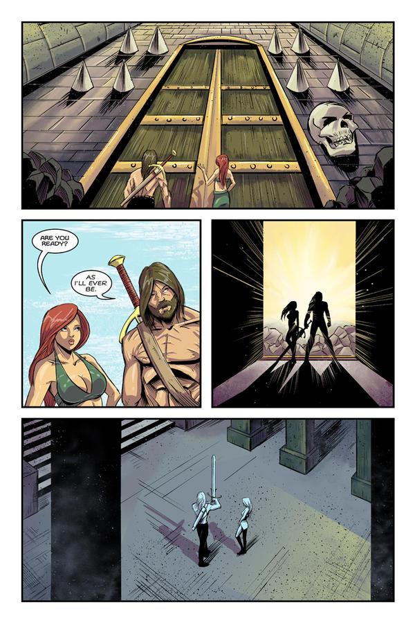 Dalrak the Mighty #1 p20 by Shono