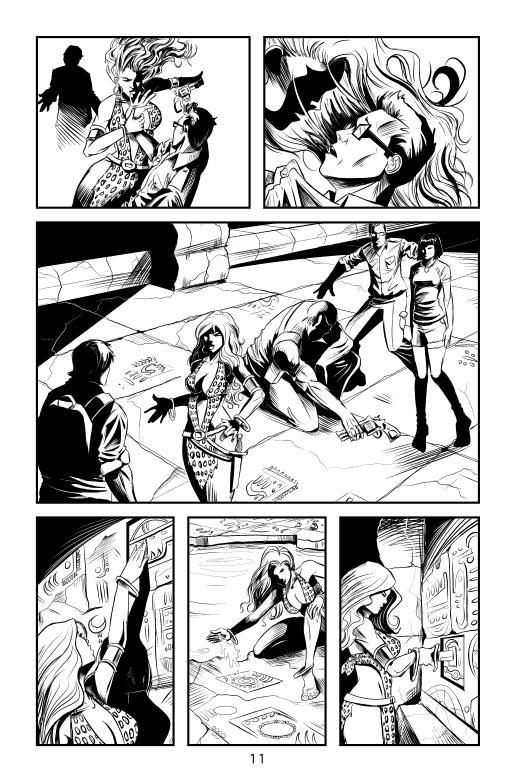 Sheena: Queen of the Jungle #3 p11 by Shono