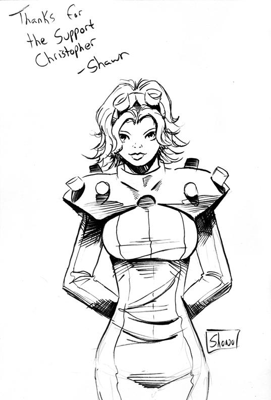 Thank you Sketch: Gear 2 by Shono