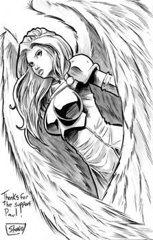Thank you Sketch: WarAngel 3