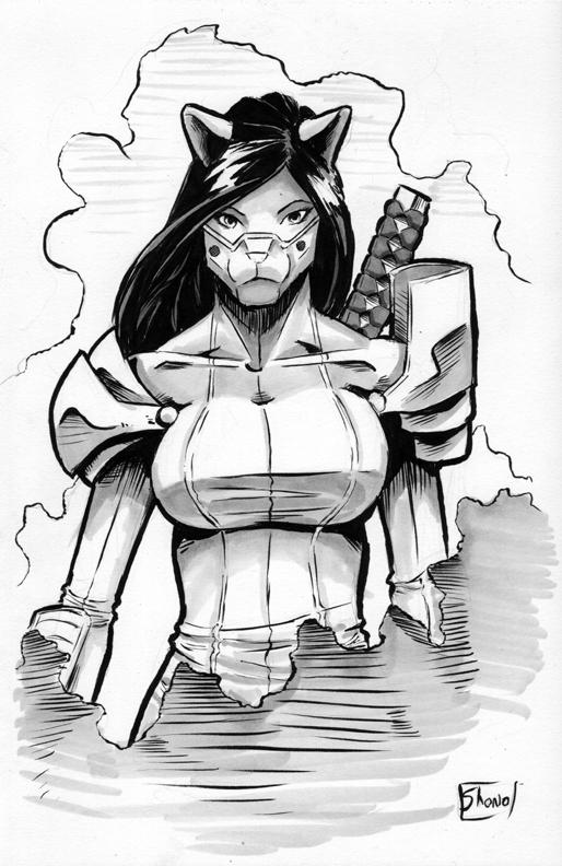 Thank you Sketch: Nekoshi by Shono