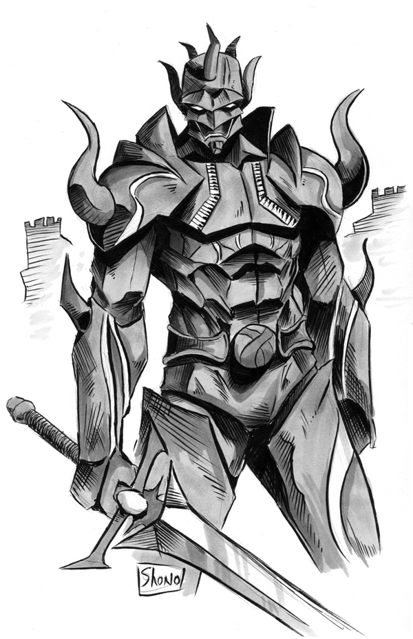 evil knight anime related - photo #35