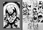 HeroesCon 2018 Sketch: Spiderman Villain Art Jam