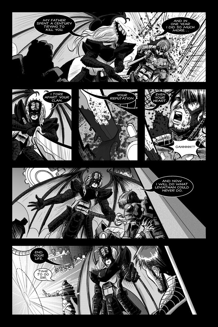 Shadows of Oblivion #1 - Page 8 by Shono
