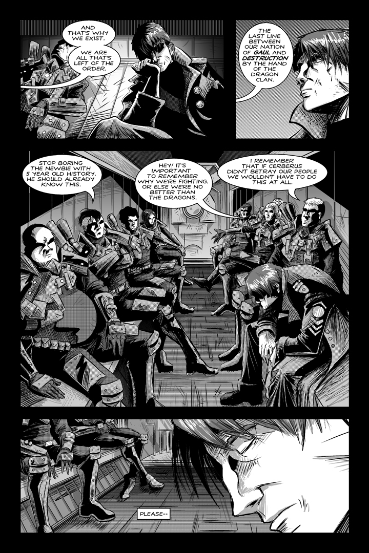 SHADOWS OF OBLIVION #1 - Page 12 by Shono
