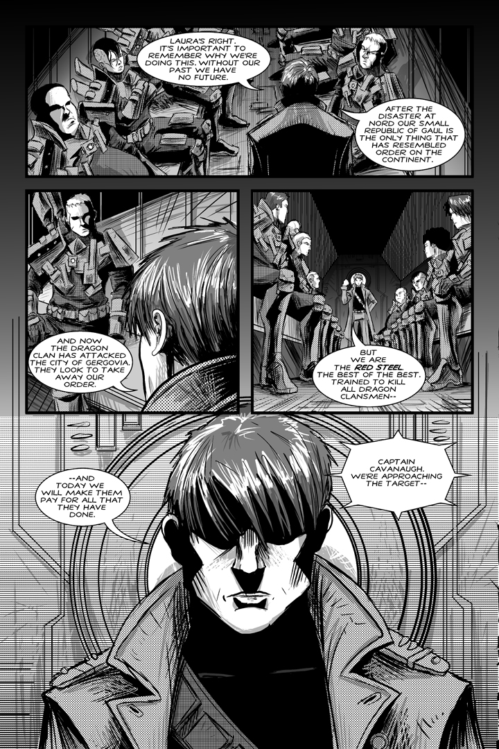 Shadows of Oblivion #1 - Page 14 by Shono