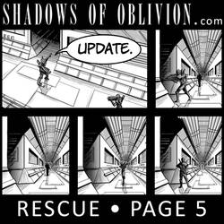 Shadows of Oblivion - Rescue Page 5 update