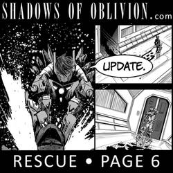Shadows of Oblivion - Rescue Page 6 update