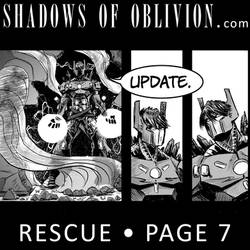 Shadows of Oblivion - Rescue Page 7 update