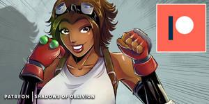 Patreon Reward: Gear Cosplays Tifa Lockhart