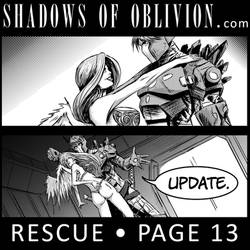 Shadows of Oblivion - Rescue Page 13 update