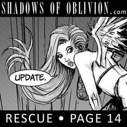 Shadows of Oblivion: Rescue page 14 update