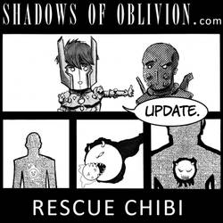Chibis of Oblivion: Rescue page 1 update