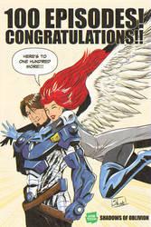 100 Episodes on Webtoons!