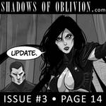 Shadows of Oblivion #3 - page 14 - Update! by Shono